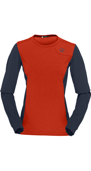 Norrøna W's Fjørå Equaliser Lightweight Long Sleeve Arednalin